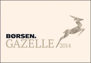 Vi har modtaget Børsens Gazellepris i 2014